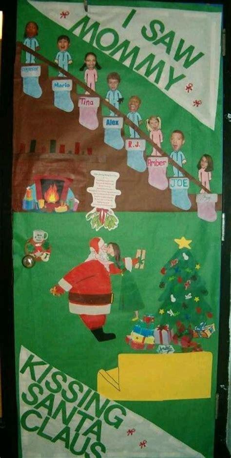 idea  christmas door decorating