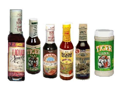 Seasoning Tray by 2 Tryme Tiger Sauce Seasonings Habanero Oyster More