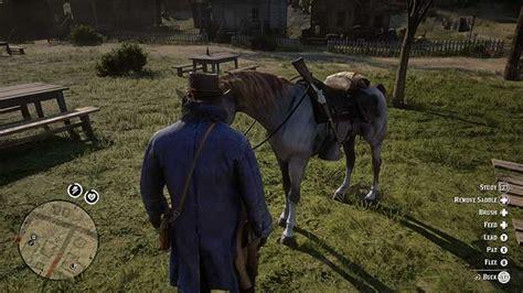 horse dead redemption bond rdr2 bonding guide stables breed locations wild start level