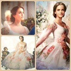 emma watson as belle disney where dreams begin With emma watson belle wedding dress