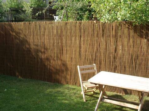 Sichtschutz Garten Lounge by Weidenmatte Sichtschutzmatten Zaun Weidenzaunmatten Garten