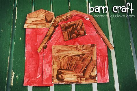 Printable Barn Craft