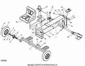 Dr Power Dirt Boss Backhoe Parts Diagram For Tongue And Axle