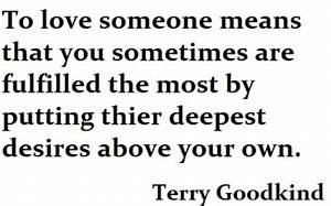 Knowledge is a ... Terry Goodkind Love Quotes