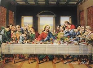 THE LAST SUPPER 16x12 Coena Domini The Lord's Supper