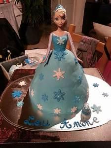 Gateau Anniversaire Reine Des Neiges : gateau reine des neiges anniversaire reine des neiges ~ Melissatoandfro.com Idées de Décoration