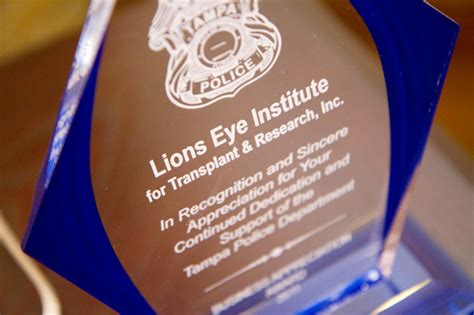 lions eye institute sees   blindness tampa