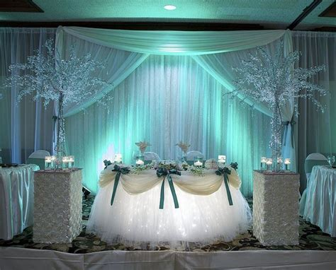 tiffany blue table decorations the sweetheart table wedding head tables and wedding ideas