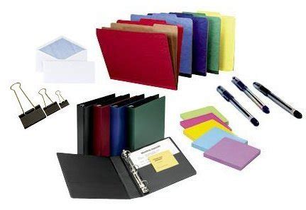 Office Supplies Used by Various Types Of Office Consumables And Their Uses Trade