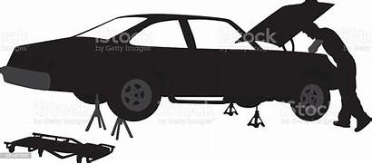 Mechanic Vector Hood Vehicle Collector Illustration Illustrations