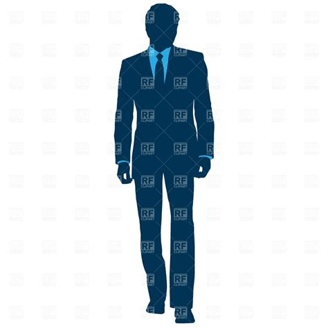 businessman in suit royalty free vector clip 715 rfclipart