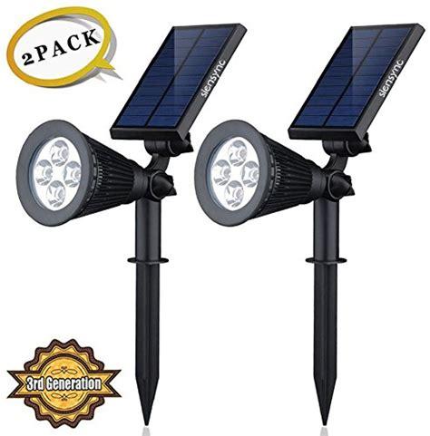 high output solar spot light white light lighting
