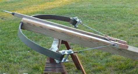 Wood Target Stand by Diy Ballista The Roman Super Crossbow In Action Video