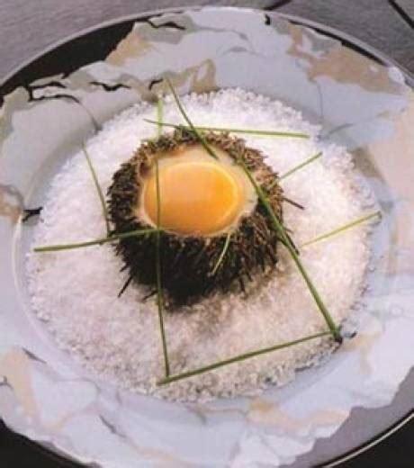 cuisine jaune d oeuf cuisine jaune d oeuf en coque d oursin