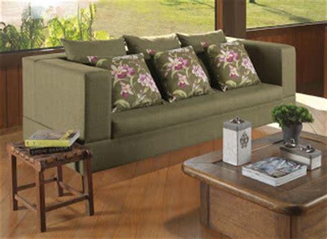 sofa verde floral belle maison corte e recorte ambientes decorados os