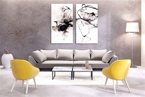 contemporary large artwork inspirations  decorate