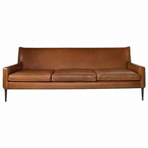 Sofa In Cognac : paul mccobb for directional sofa in cognac leather at 1stdibs ~ Indierocktalk.com Haus und Dekorationen