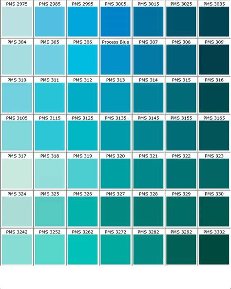 shades of blue names chart www pixshark images