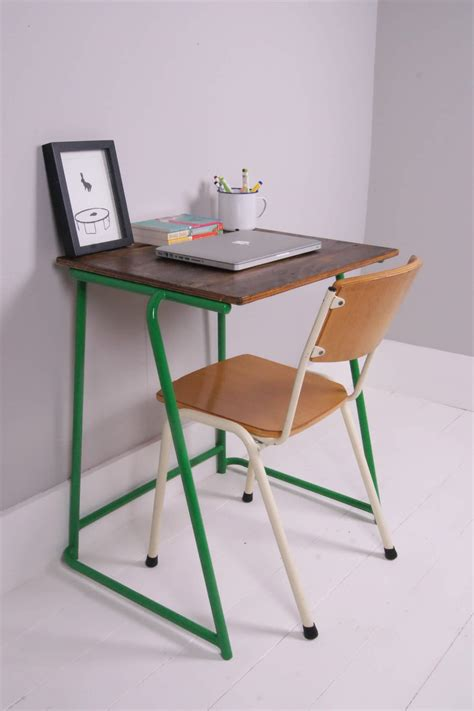 metal legs for a desk children 39 s vintage exam desk with green metal legs