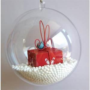 Boule De Noel Pas Cher : acheter boule de noel transparente a remplir 12cm badaboum ~ Teatrodelosmanantiales.com Idées de Décoration
