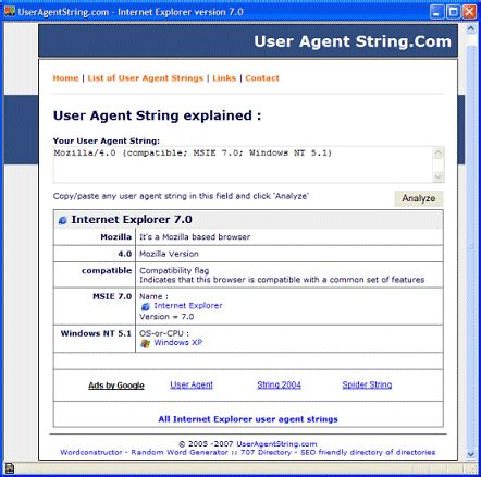 user string agent illustration modification browser