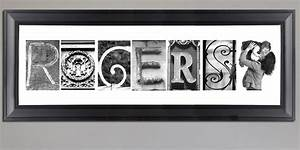 name art alphabet art lettter photography and prints With last name letters in a frame