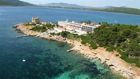 hotel porto conte hotel el faro alghero sardinia location
