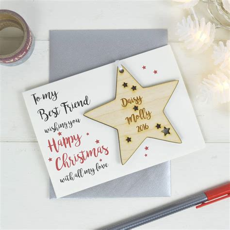 You can literally explain to them why they're so amazing and important in this personalised best friend definition print. personalised best friend's christmas card by just toppers | notonthehighstreet.com