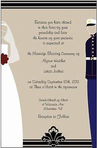 wedding invitations marine wife pinterest With wedding invitation marine design