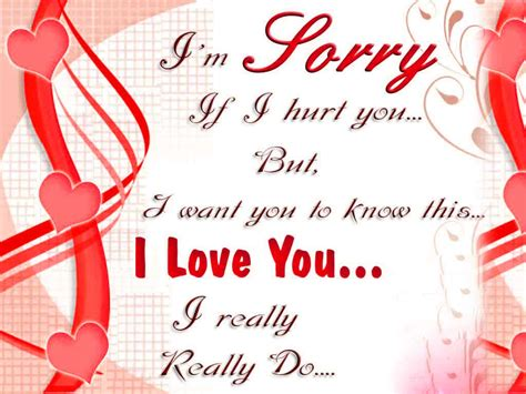 Love Sorry Images Download