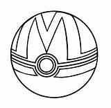 Template Mirage Ball Pokeball 6xl Kleurplaat Coloriage Deviantart sketch template