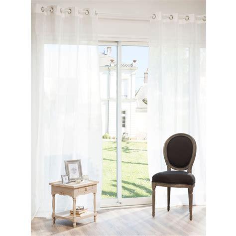 rideaux chambre bebe fille rideau à œillets en écru 140 x 250 cm paillettes