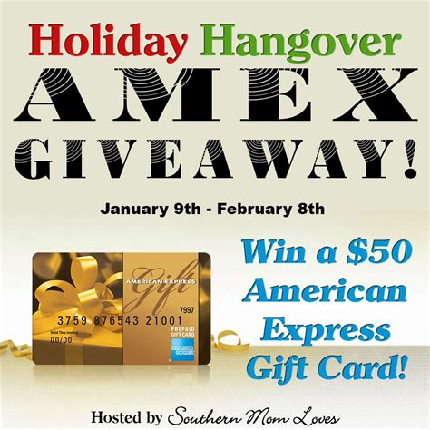 While you will lose a percentage of your gift card, since these retailers won't offer you the full gift card value, this can still be an efficient way to access a majority of the. Holiday Hangover $50 AMEX Gift Card Giveaway | American express gift card, Express gifts, Gift card