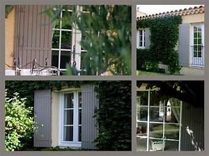 Volet Bois Couleur Taupe : volets gris taupe resine de protection pour peinture ~ Melissatoandfro.com Idées de Décoration