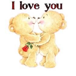 bilder und animierte gifs von romantischen teddybaeren