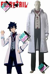 Costume Fairy Tail Cosplay Gray Fullbuster Cosplay White ...