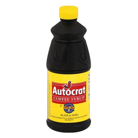 So popular, in fact, that if you order milk in rhode island, without specifying white milk, you just may get coffee milk! Autocrat Coffee Syrup - 32oz | Coffee syrup, Autocrat coffee syrup, Coffee type