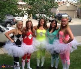 Power Rangers Group Halloween Costume