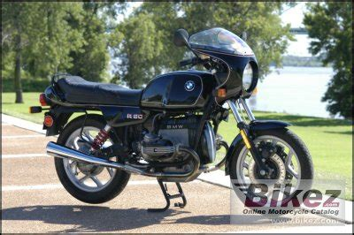 1986 Bmw R 80 Specifications And Pictures