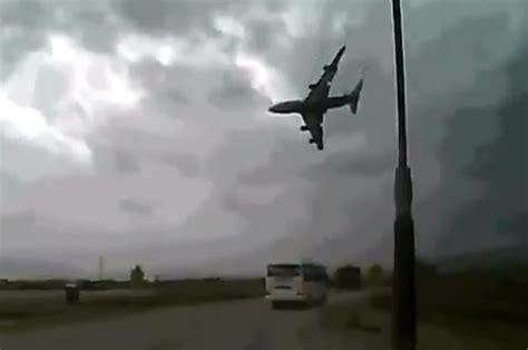 Boat Crash Dash Cam by Plane Crash At Bagram Air Force Base In Afghanistan Caught
