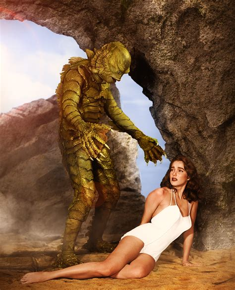 Creature from the Black Lagoon production still ...