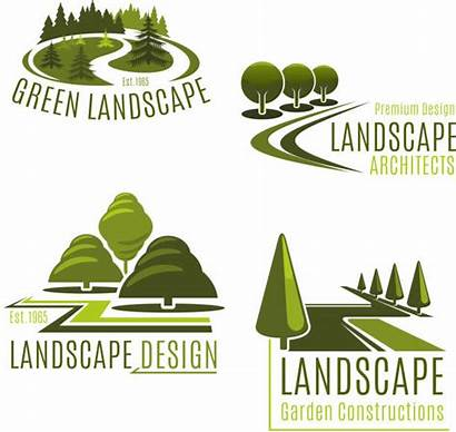 Vector Landscaping Clip Company Landscaped Illustrations Icons