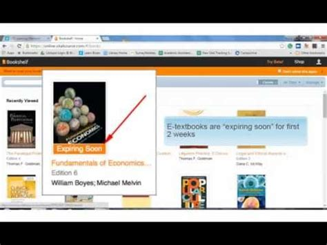 Virtualsource Bookshelf by E Textbooks Vitalsource Bookshelf