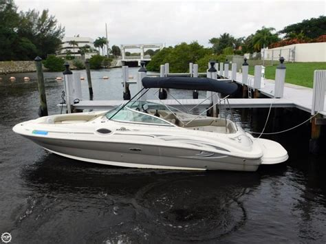 Sea Deck Boats Used by 2005 Used Sea 240 Sundeck Deck Boat For Sale 22 500