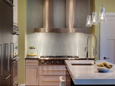 kitchen with glass backsplash modern kitchen backsplashes pictures ideas from hgtv hgtv