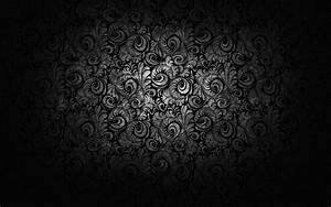 Black And White Floral Wallpaper 6 Background ...