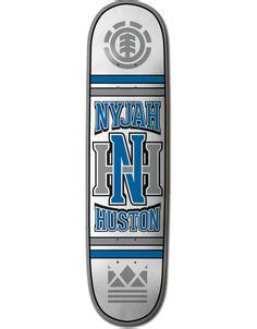 Nyjah Huston Owl Deck by Element Nyjah Chains Complete Skateboard 7 75 Quot X 31 25