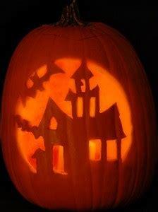 haunted house pattern  scary halloween pumpkin