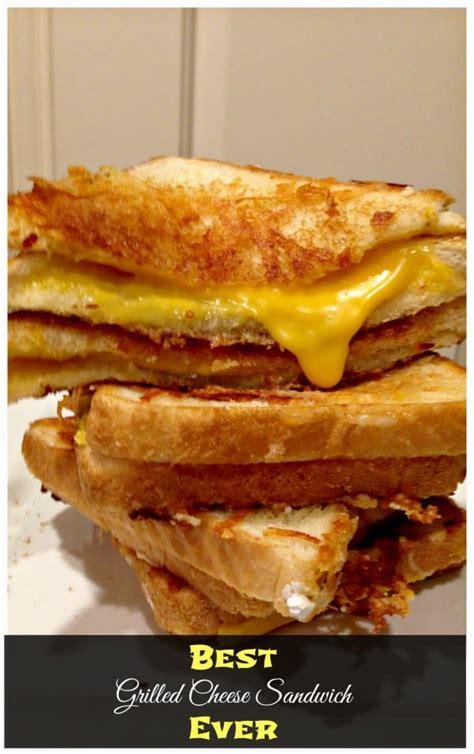 grilled cheese sandwich   secret ingredient