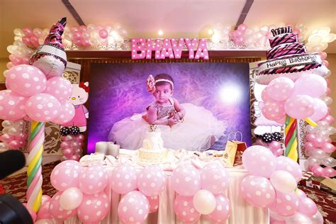 first birthday decoration ideas at home for girl luxury